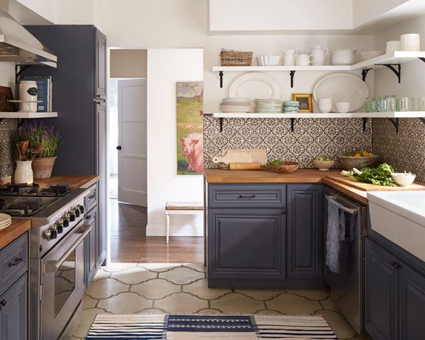26 kitchen open shelves ideas decoholic for Cal s country kitchen
