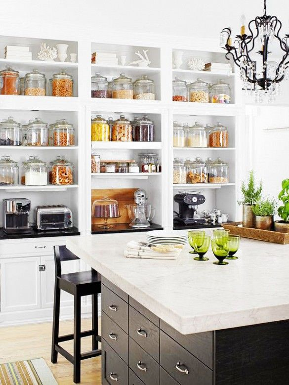 26 Kitchen Open Shelves Ideas Decoholic