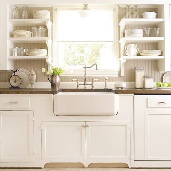 Kitchen With Open Cabinets: 26 Kitchen Open Shelves Ideas