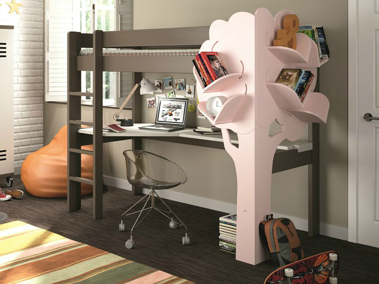 Open kids bookcase mathy by bolbs