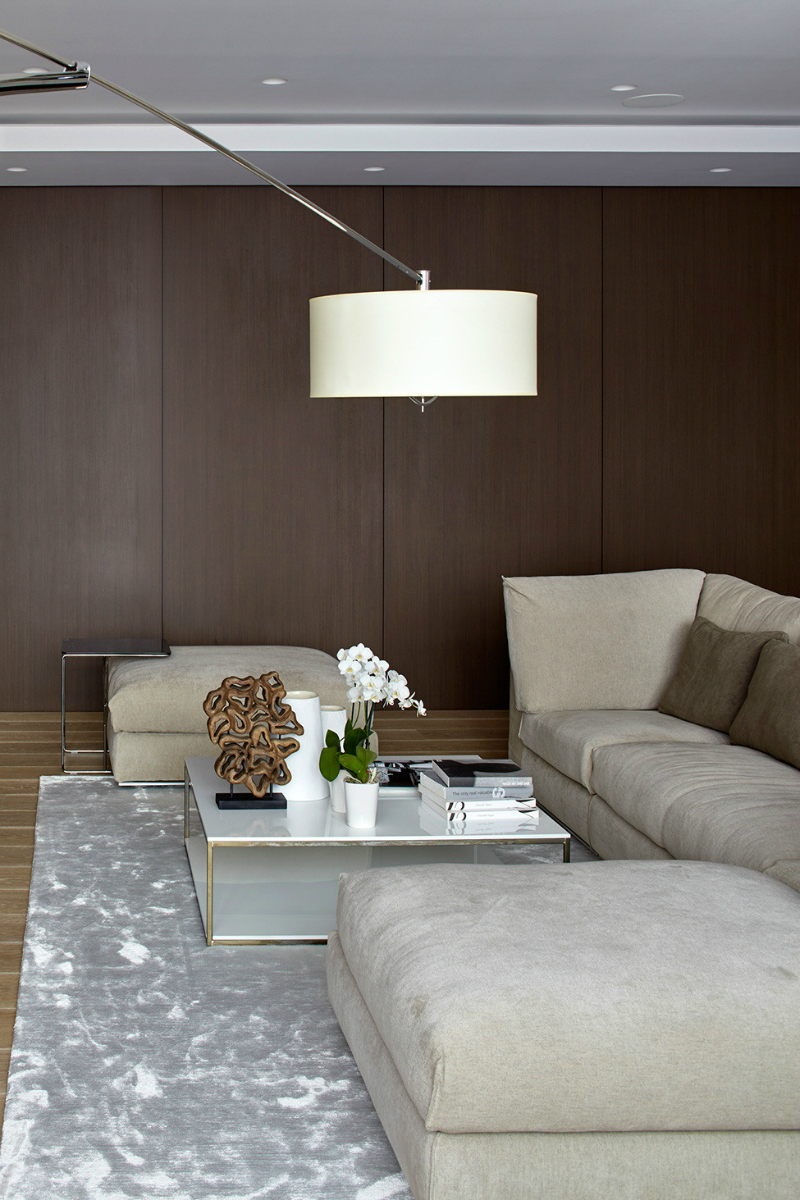 contemporary elegant apartment interior design by Fedorova 11