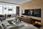 contemporary elegant apartment interior design by Fedorova