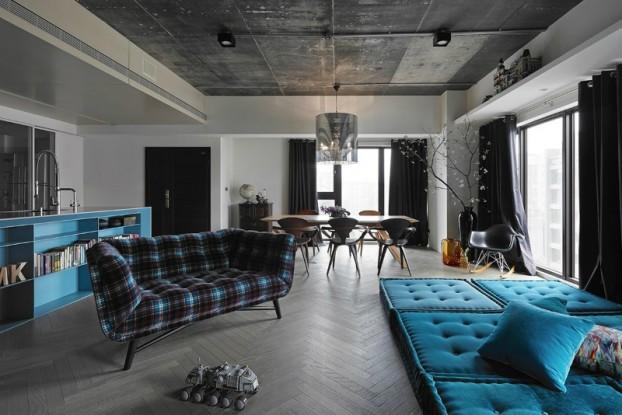 contemporary interior by ganna design