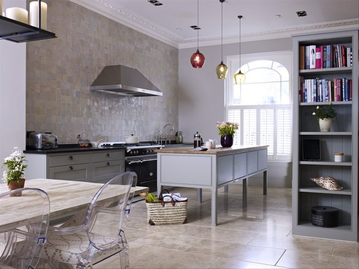 ... Gray Kitchen Design Idea 50