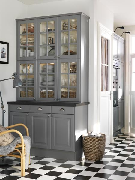 gray kitchen design idea 51