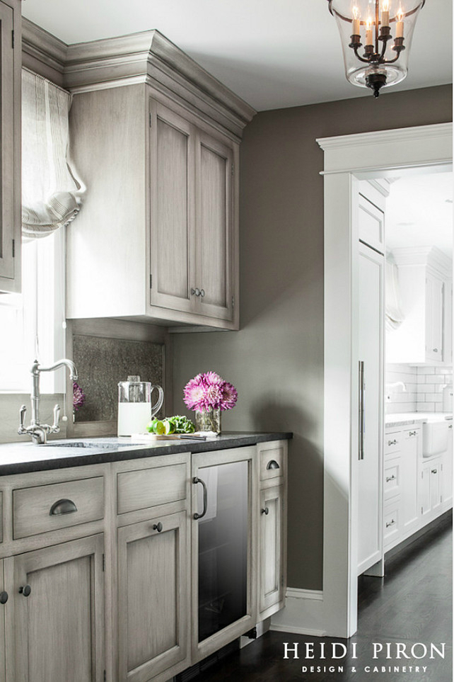 Gray Kitchen Design Ideas Decoholic - Colors for kitchen cabinets and walls