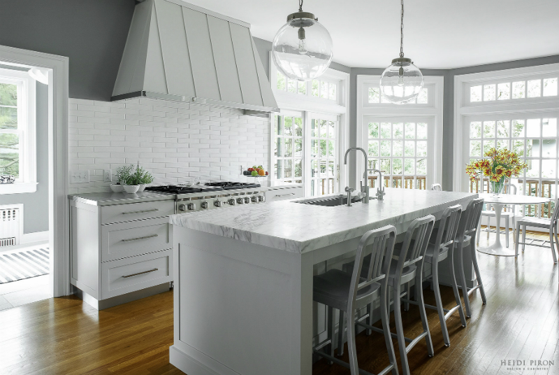 gray kitchen design idea 60 gray kitchen design idea 59 - Kitchen Design Idea