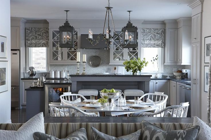 gray kitchen design idea 68