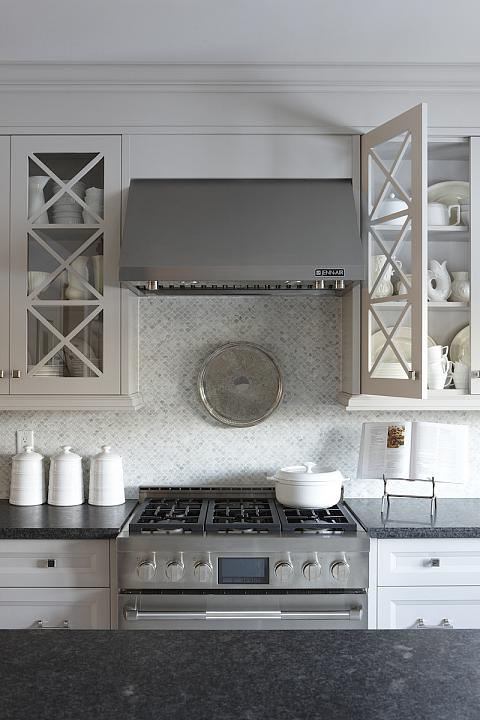 gray kitchen design idea 71