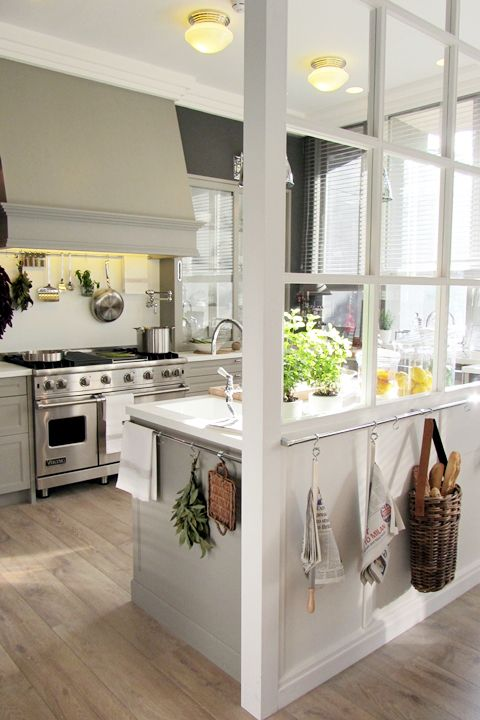 gray kitchen design idea 73