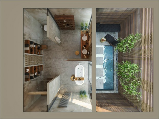 Bathroom: Natural Zen Like Elegance 11