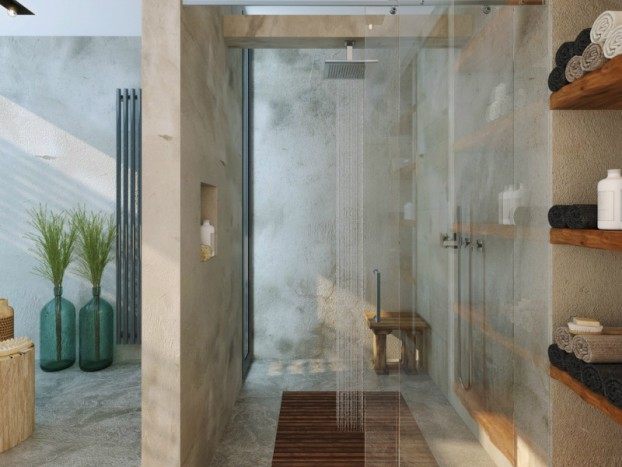Bathroom: Natural Zen Like Elegance 2