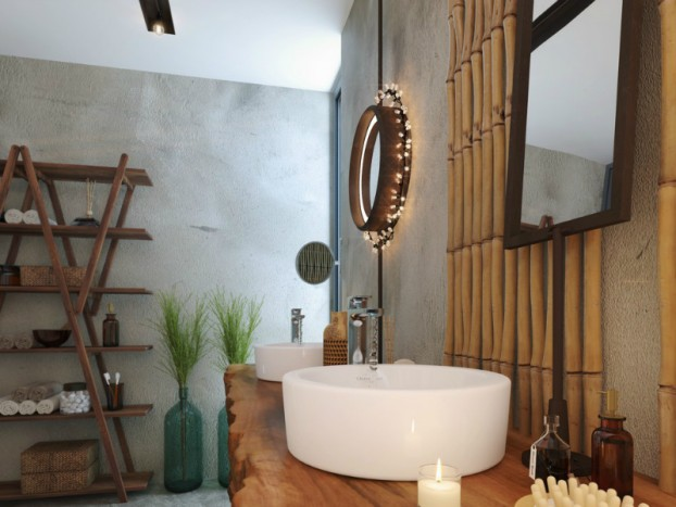 Bathroom: Natural Zen Like Elegance 4