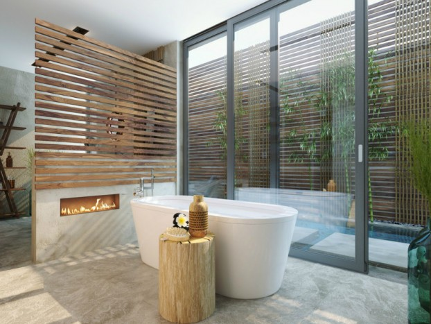 Bathroom: Natural Zen Like Elegance 8