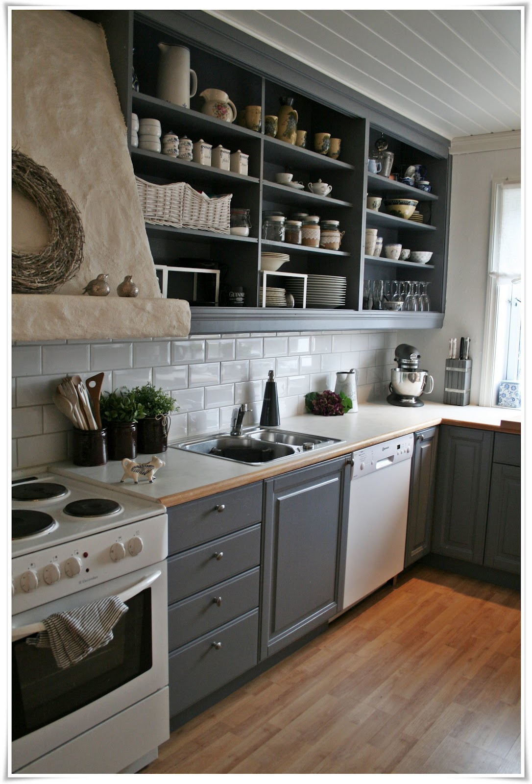 Kitchen Open Shelves 26 Kitchen Open Shelves Ideas Decoholic