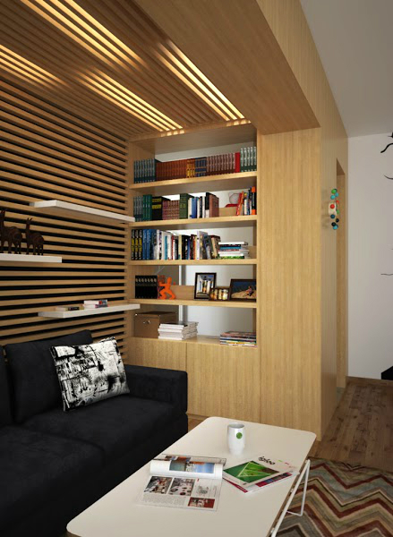 Playful Apartment Remodeling 4