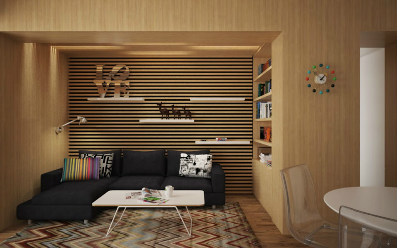 Playful Apartment Remodeling
