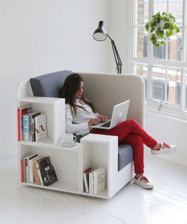 Chairs Combine With Storage