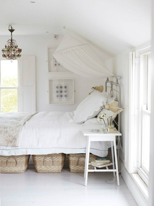 baskets Under  Bed