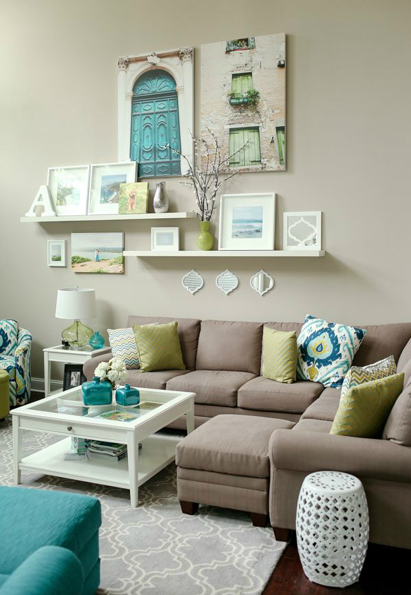 Shelves decor