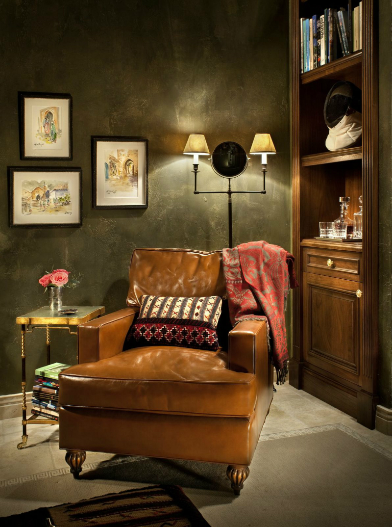 the cultural influence can be felt throughout this home decoholic traditional home interior 6