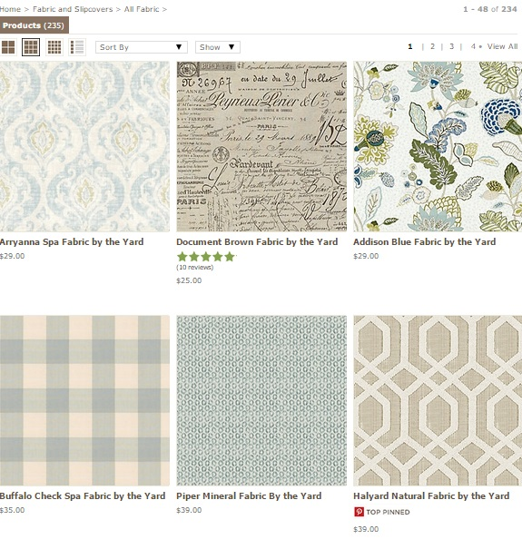 Upholstery Fabric: 20 Online Home Fabric Stores 10