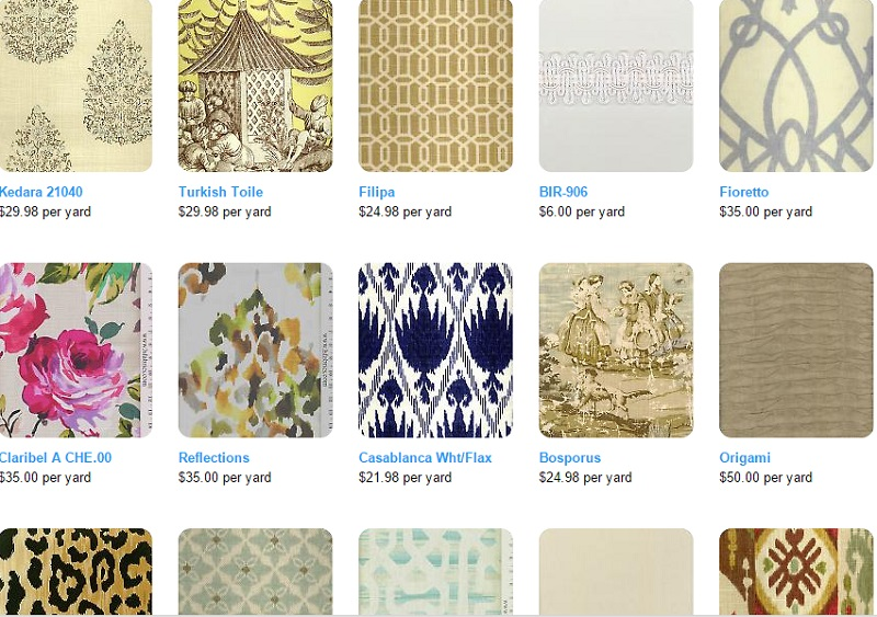 Upholstery Fabric: 20 Online Home Fabric Stores - Decoholic