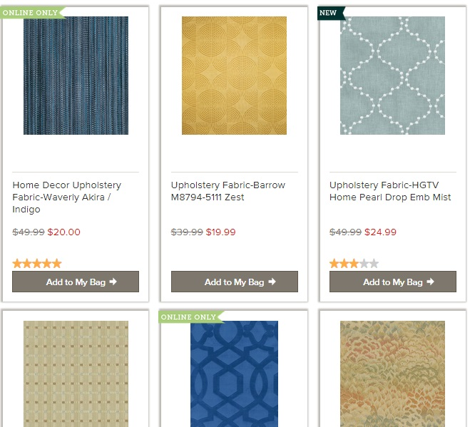 Upholstery Fabric: 20 Online Home Fabric Stores 17