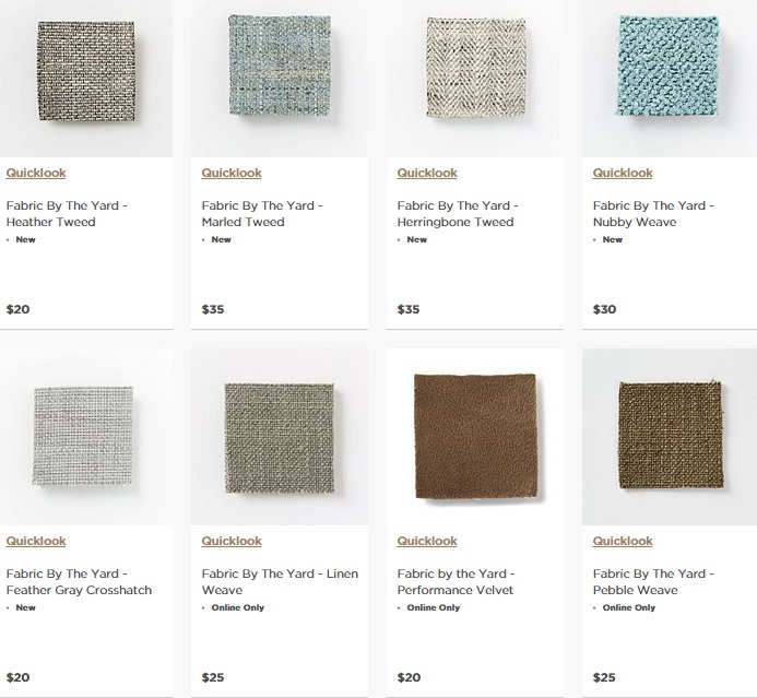 Upholstery Fabric: 20 Online Home Fabric Stores 20