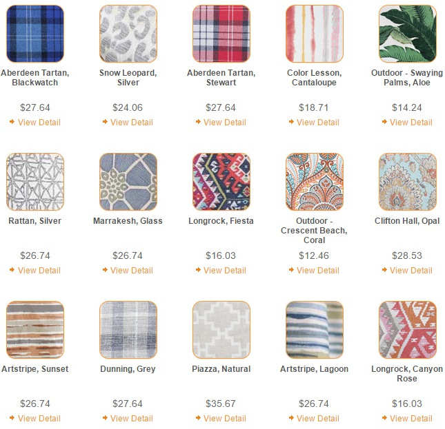 Upholstery Fabric: 20 Online Home Fabric Stores 5