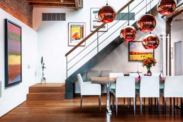 stunning soho loft interior 2