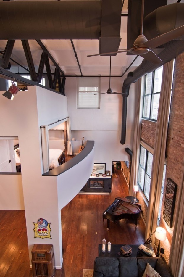 The National Biscuit Company (OREO) Building Turned Into A Modern Loft 9