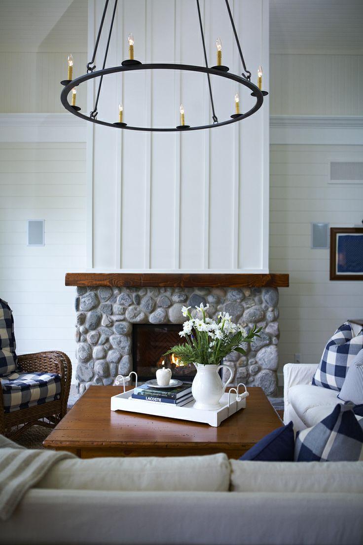 Living Room And Dining Room Decorating Ideas: Coastal Homes: 54 Ideas