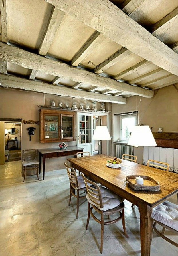 country living rustic interior 6