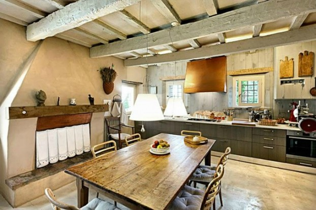 country living rustic interior 8