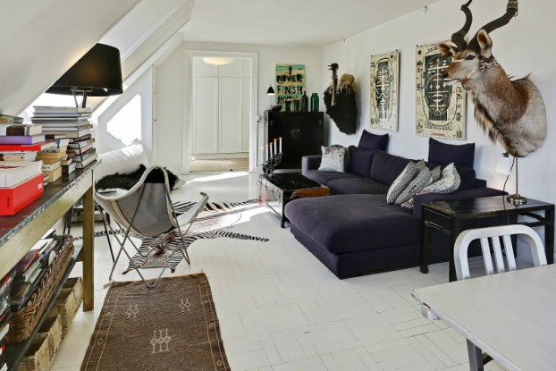 eclectic scandinavian home interior 2