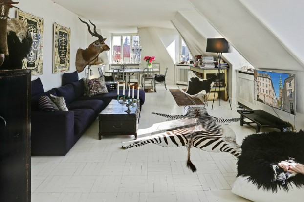 eclectic scandinavian home interior 4