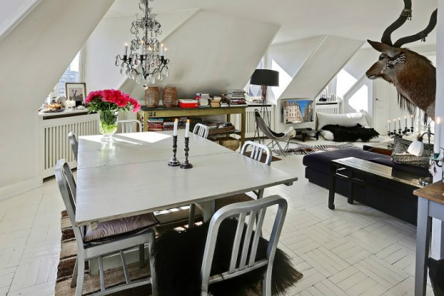 eclectic scandinavian home interior 6