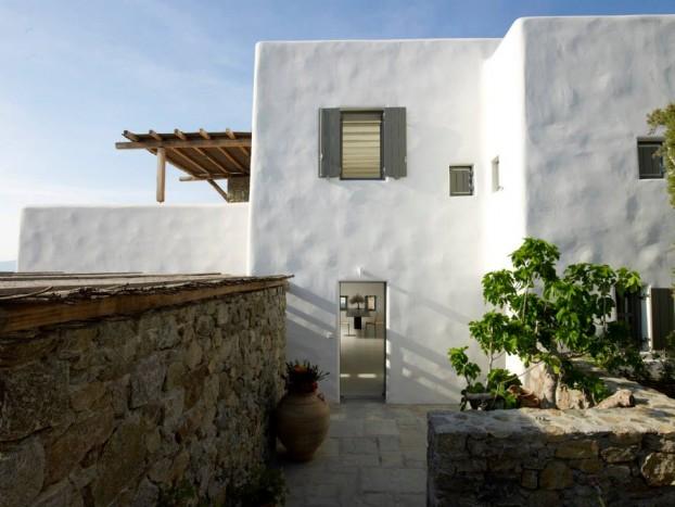 Modern Cycladic house 10