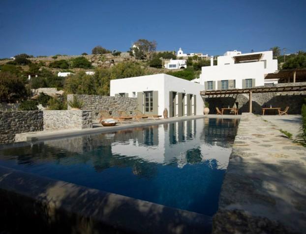 Modern Cycladic house 11