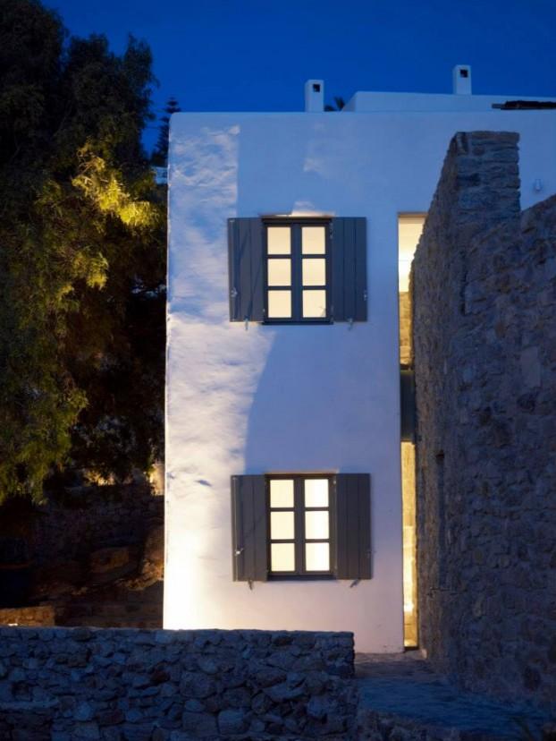 Modern Cycladic house 12