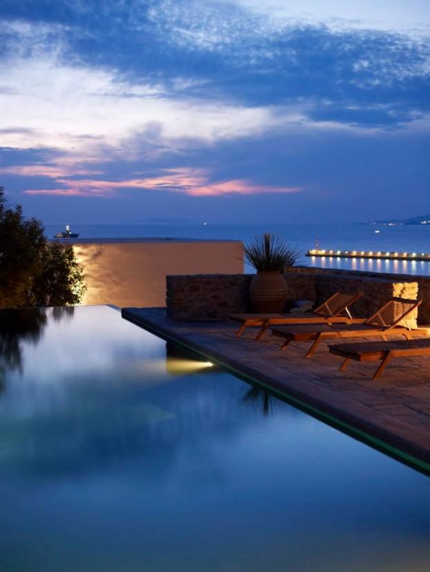 Modern Cycladic house 13