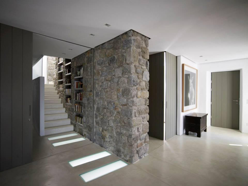 Modern Cycladic Interior With A Sense Of Quot Invisible