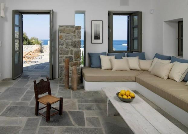 Modern Cycladic Interior