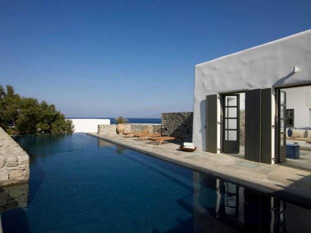Modern Cycladic house 9