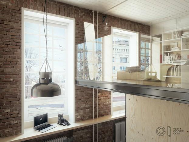 modern small loft jakyri's apartmnt 10