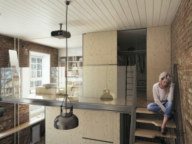 modern small loft jakyri's apartmnt 11