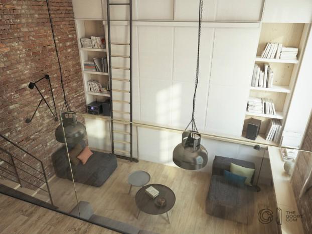 modern small loft jakyri's apartmnt 12