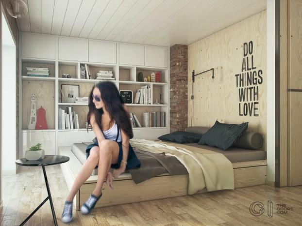 modern small loft jakyri's apartmnt 13