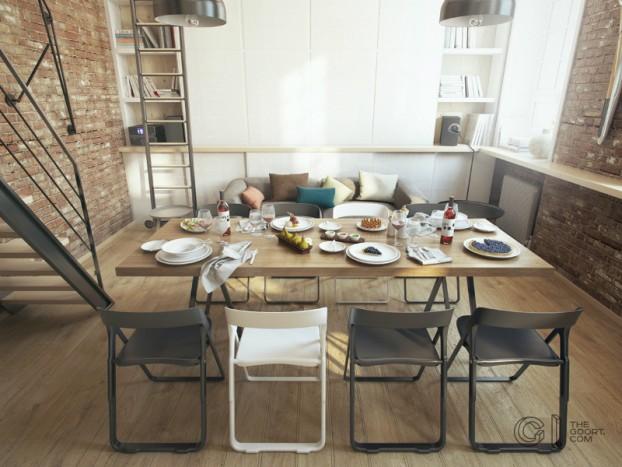 modern small loft jakyri's apartmnt 18